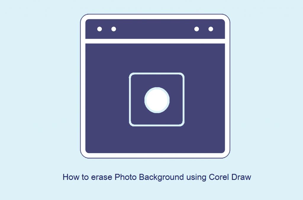 Cara menghilangkan background foto dengan corel