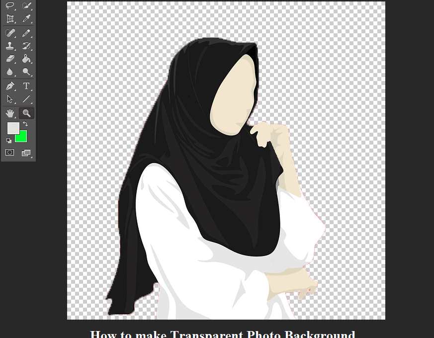 Cara Membuat Background Transparan Di Photoshop Berhasil