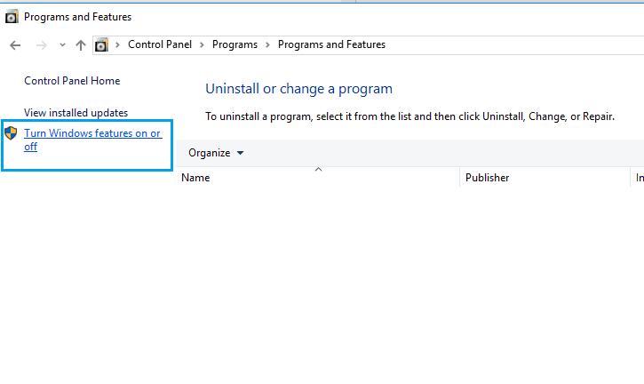 Setting .NET Program