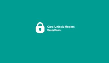Cara Untuk Unlock Modem Smartfren