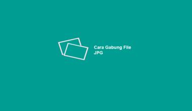 Cara Gabung Foto JPG