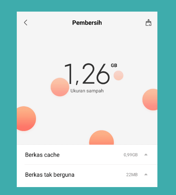 Cleaner File Sampah Xiaomi