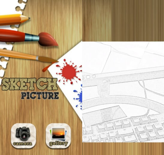 Sketch Picture App