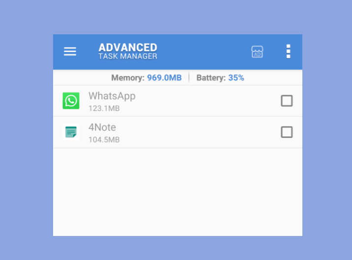 Aplikasi Advanced Task Manager Android