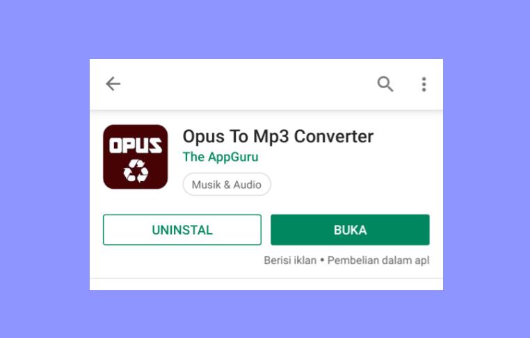 Aplikasi Converter Suara WhatsApp