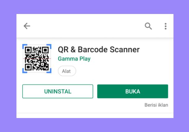 Aplikasi Barcode Scanner Maps