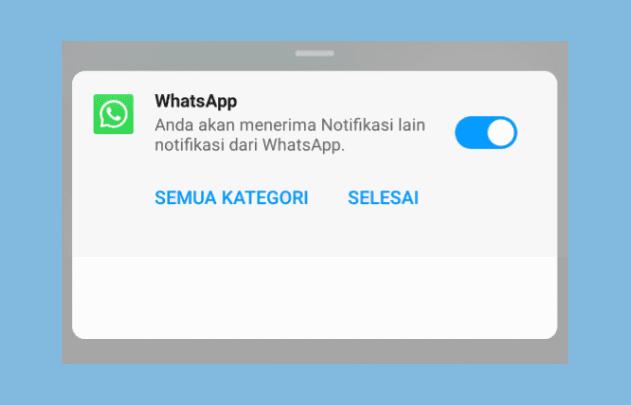 Notifikasi WA Android