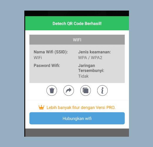 Aplikasi Scan Barcode WIFI