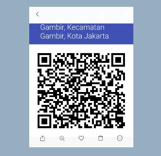 Contoh Hasil QR Code