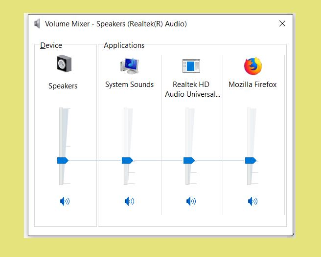 Equalizer Mixer Windows Laptop