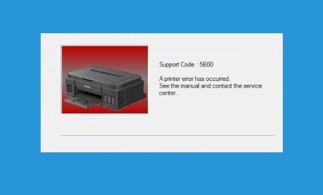 Penyebab Error 5B00 Pada Printer