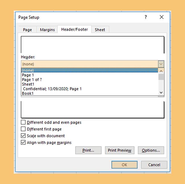 Menghapus Header dan Footer di Microsoft Excel