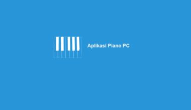 Aplikasi Piano Laptop
