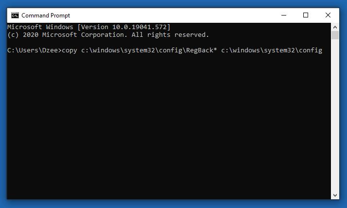Mengembalikan Registry Windows