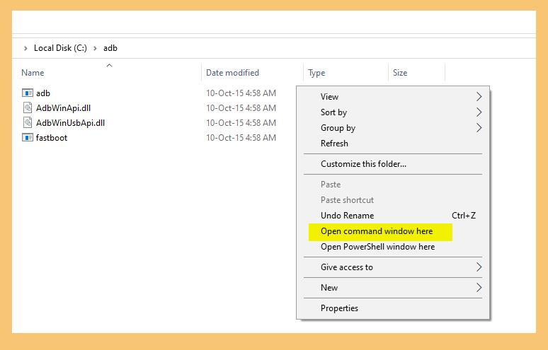 Buka Command Windows