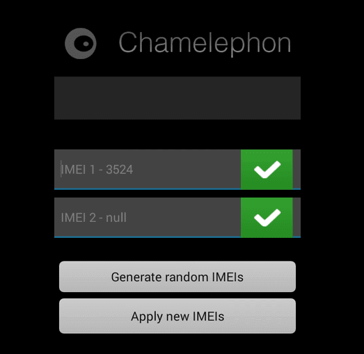 Contoh Apply IMEI