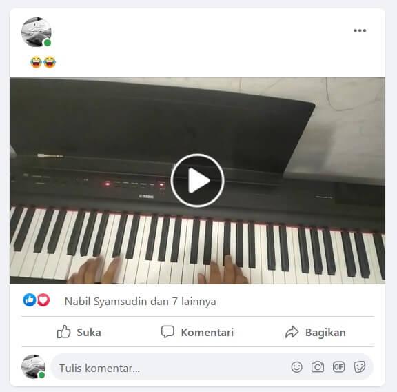 Like di Facebook