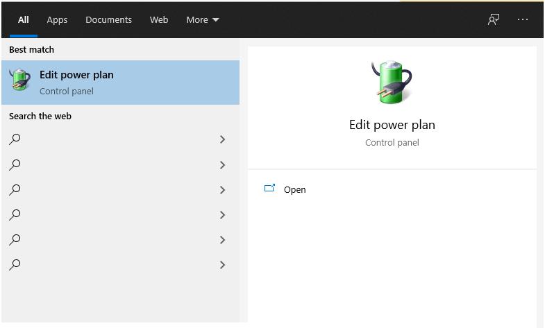 Fitur Edit Power Plan