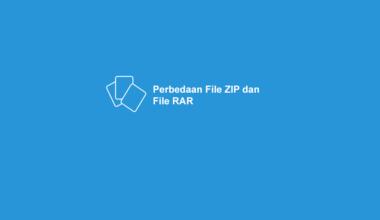 Beda File RAR dan ZIP
