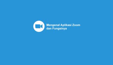 Apa itu Aplikasi Zoom